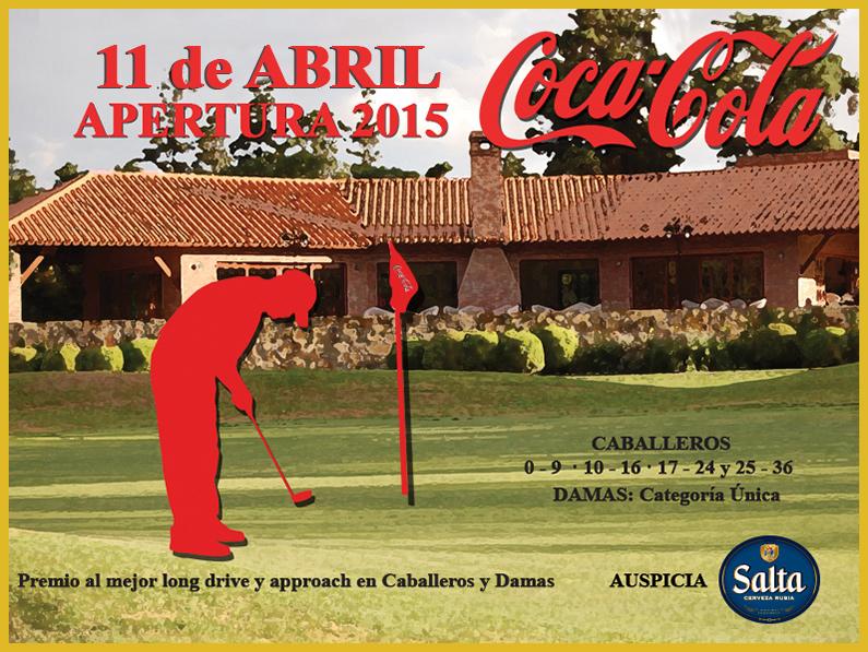 SABADO 11 de ABRIL APERTURA 2015 «COCA COLA»