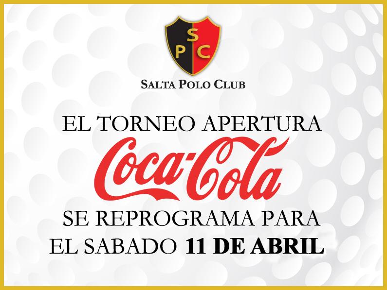 REPROGRAMACION APERTURA «COCA COLA» 2015
