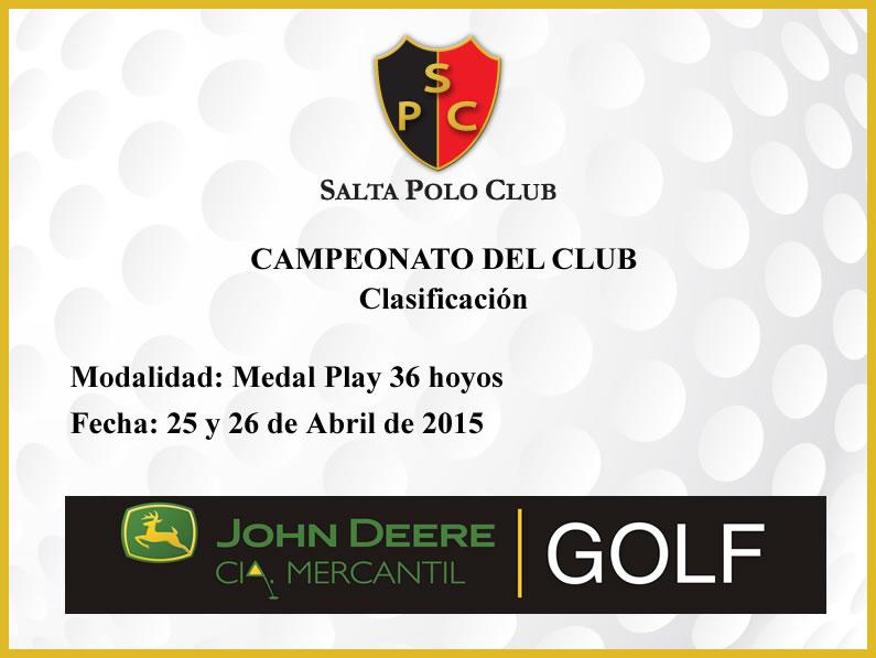 Campeonato del Club 2015