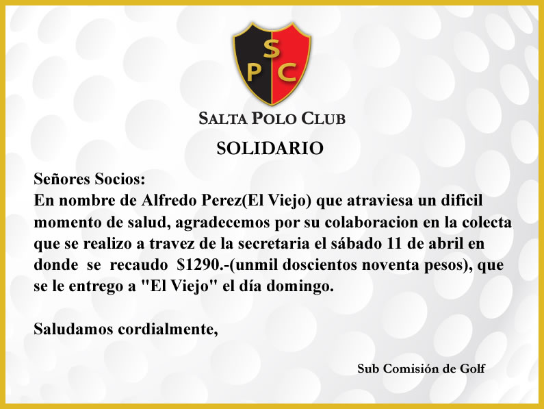 Salta Polo Club – Solidario