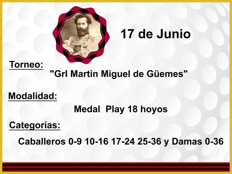 17 de Junio «Grl Martin Miguel de Güemes»