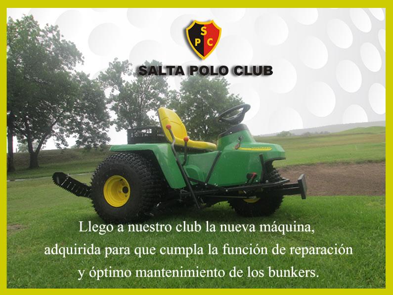 Nueva Maquina para Mejorar su Cancha de Golf