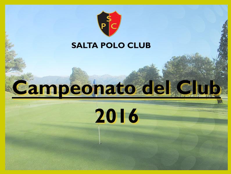 CAMPEONATO DEL CLUB