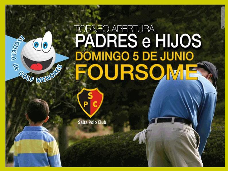 Escuela de Golf «PADRE E HIJOS 2016»
