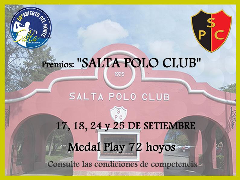 Premio:  «SALTA POLO CLUB»