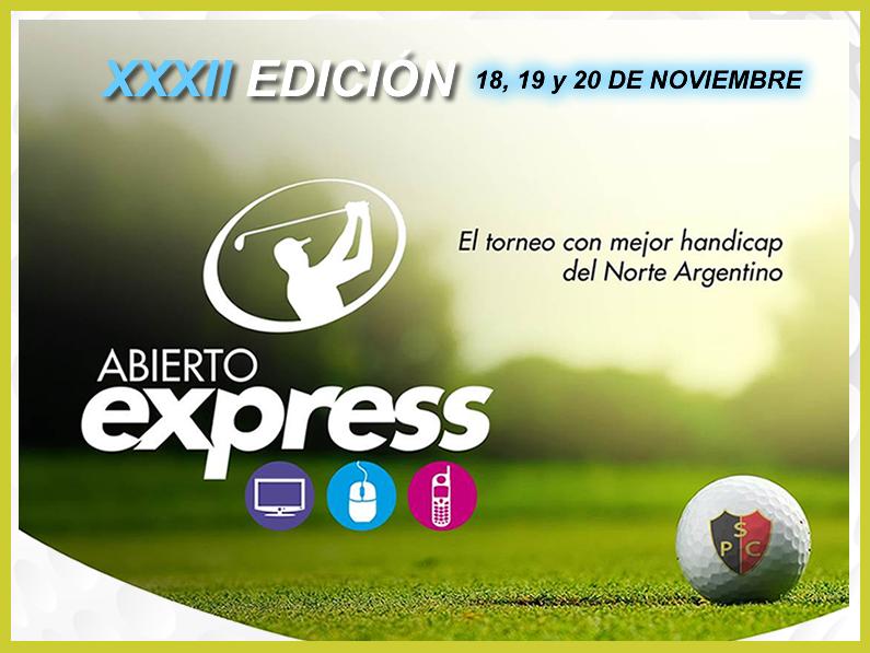 ABIERTO DE SALTA»EXPRESS»