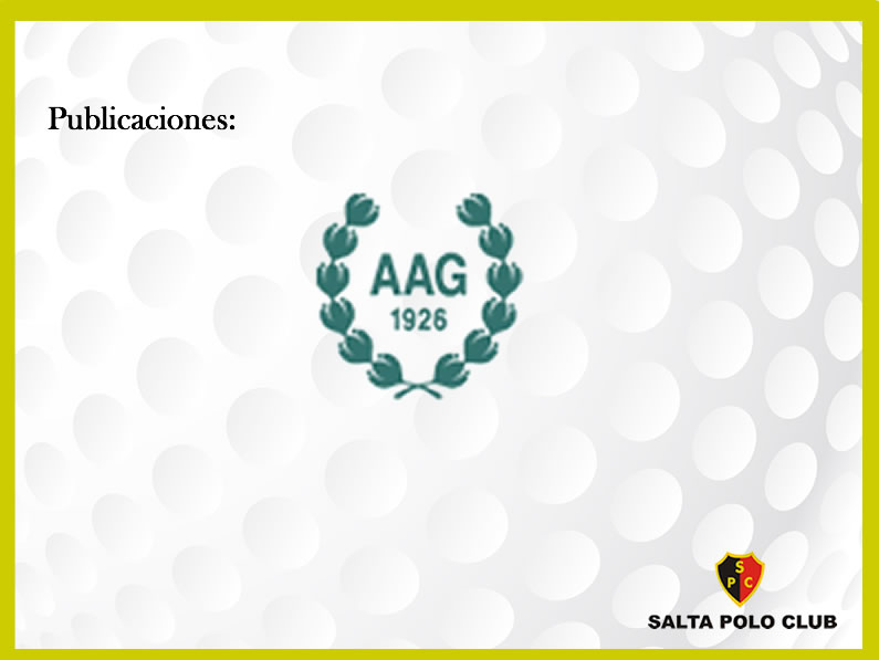 AAG / ASOCIACION ARGENTINA DE GOLF