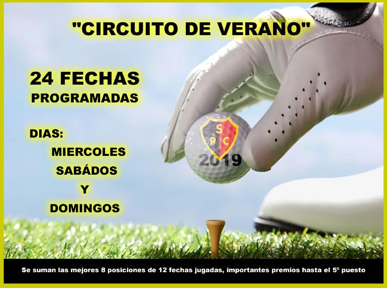 «CIRCUITO DE VERANO» 2019