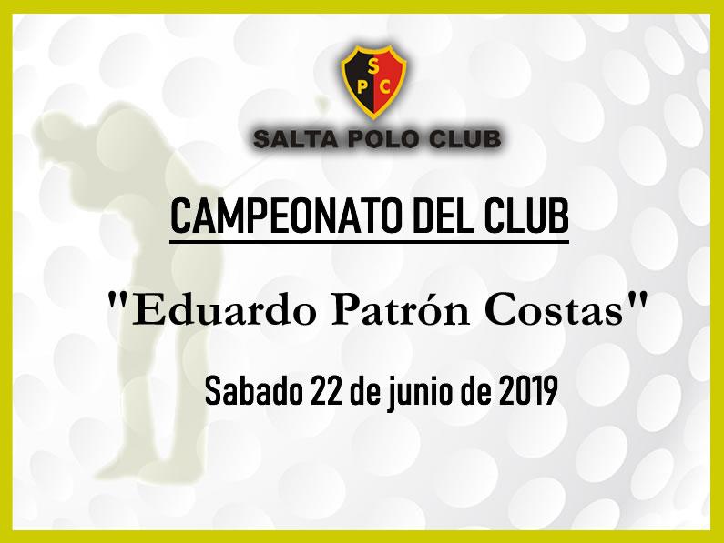 CAMPEONATO DEL CLUB Four Ball