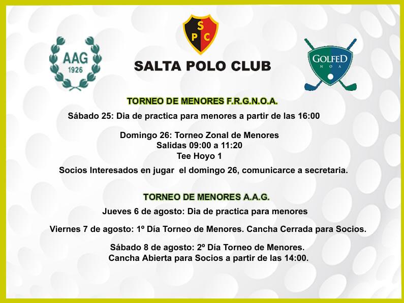 Programa de Torneos F.R.G.NO.A. & A.A.G.