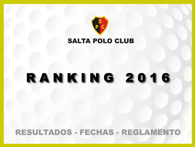 Ranking 2016