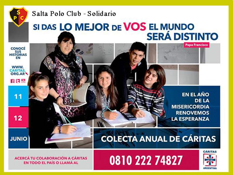 SALTA POLO CLUB UNA VEZ MAS SOLIDARIO