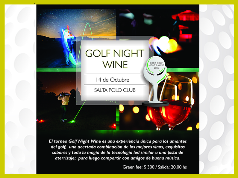 GOLF NIGHT & WINE