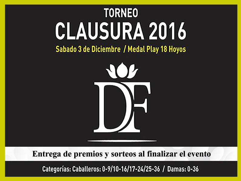 CLAUSURA 2016