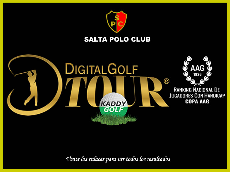 RANKING DIGITAL  GOLF TOUR 2017