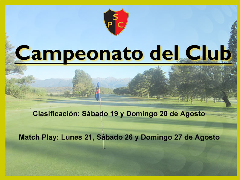 Edición 2017 «CAMPEONATO DEL CLUB»