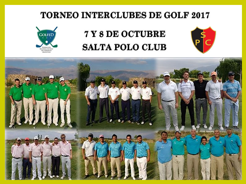 TORNEO INTERCLUBES DE GOLF 2017