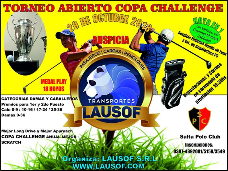 LAUSOF Presenta «COPA CHALLENGE»