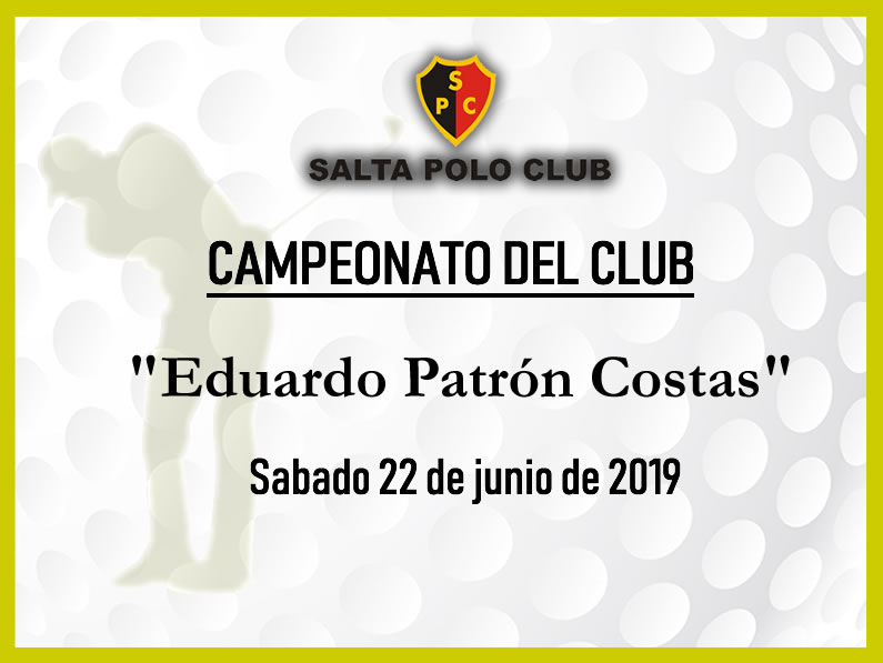 CAMPEONATO DEL CLUB Four Ball