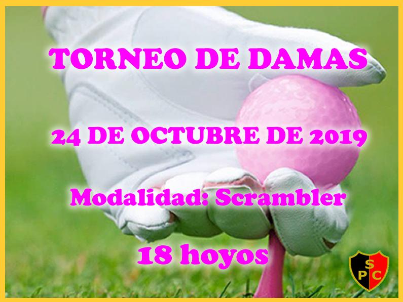Torneo de «Día Jueves de Damas»