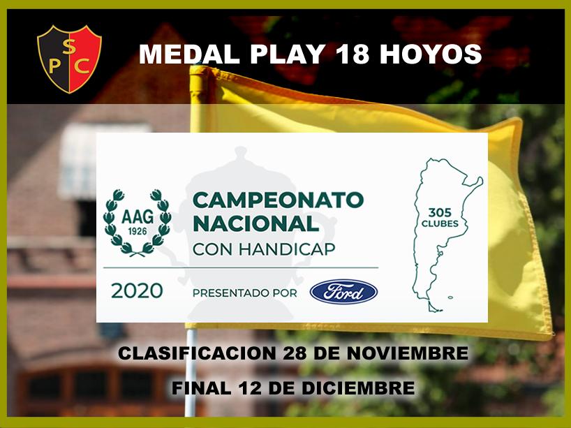 CAMPEONATO NACIONAL CON HANDICAP, presentado por FORD