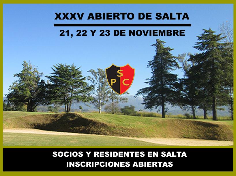 XXXV ABIERTO DE SALTA